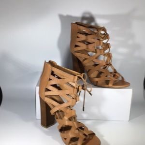 Bamboo Lace Up Sandals ( W2010)